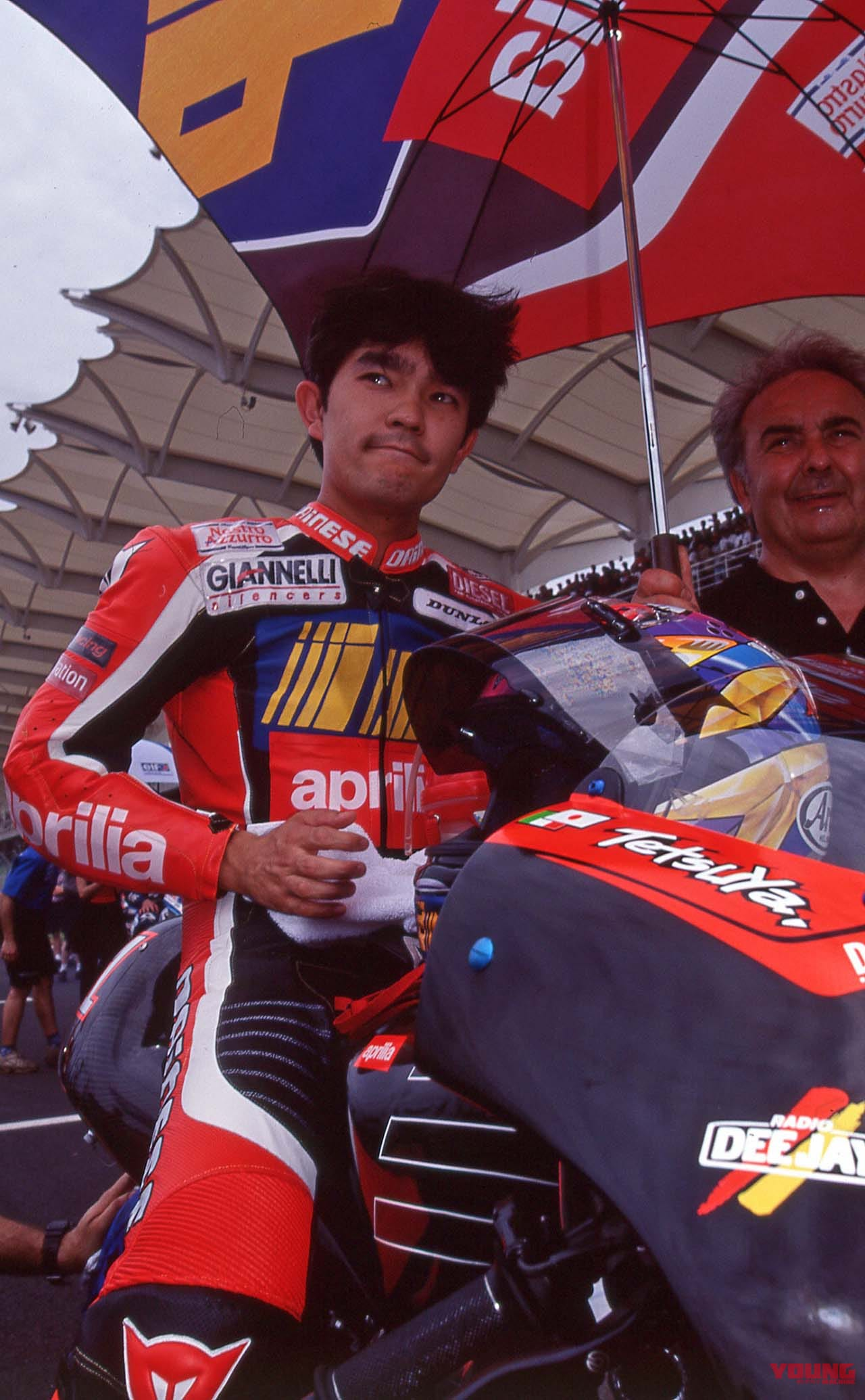 1999年WGP500、マレーシアGP セパンの原田哲也