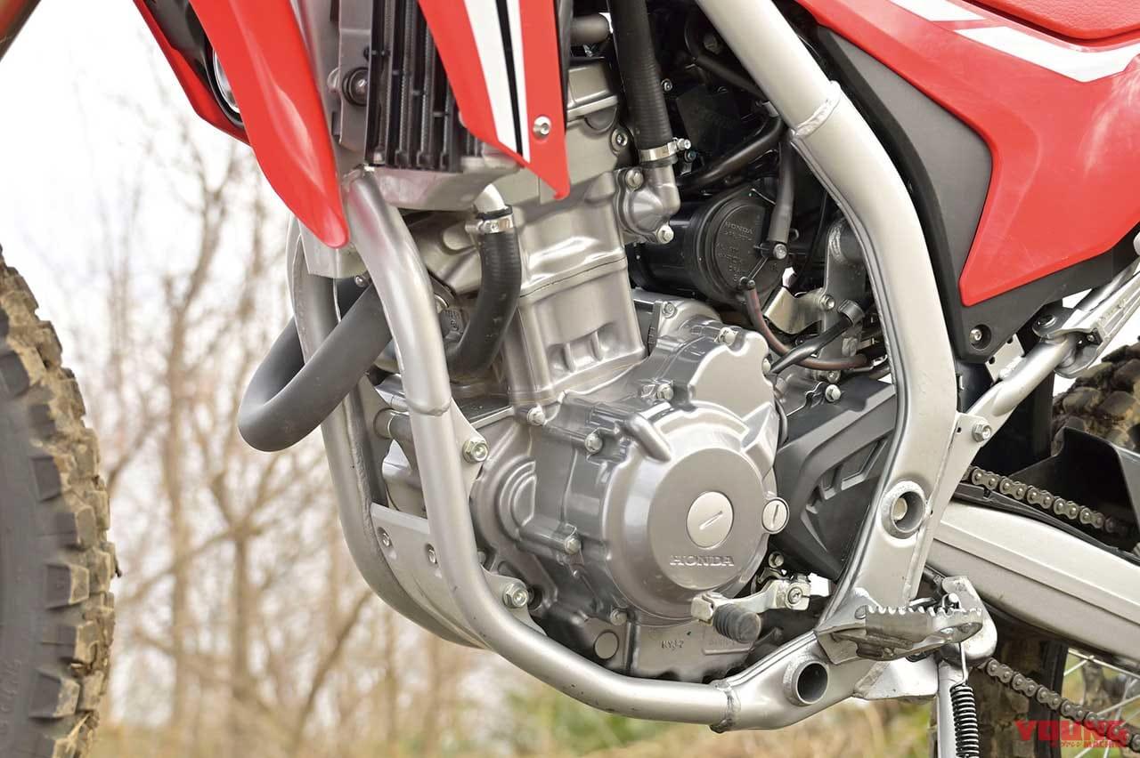 ホンダ CRF250Lのエンジン