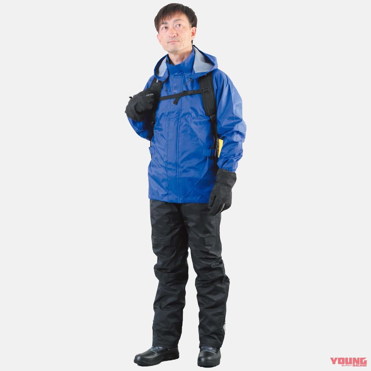 ワークマン快適サマーコーディネート#5:旅のベテランも認める防水性能で雨の日も安心