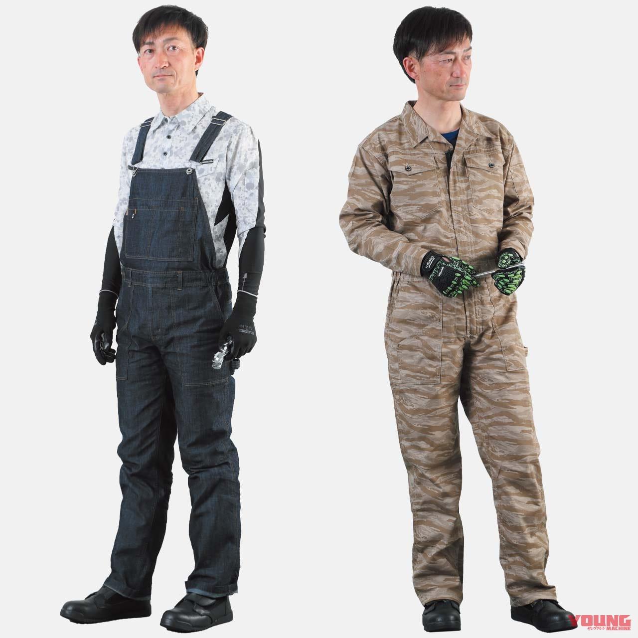 ワークマン快適サマーコーディネート#6:愛車のメンテナンスはぜひ正装=作業服で
