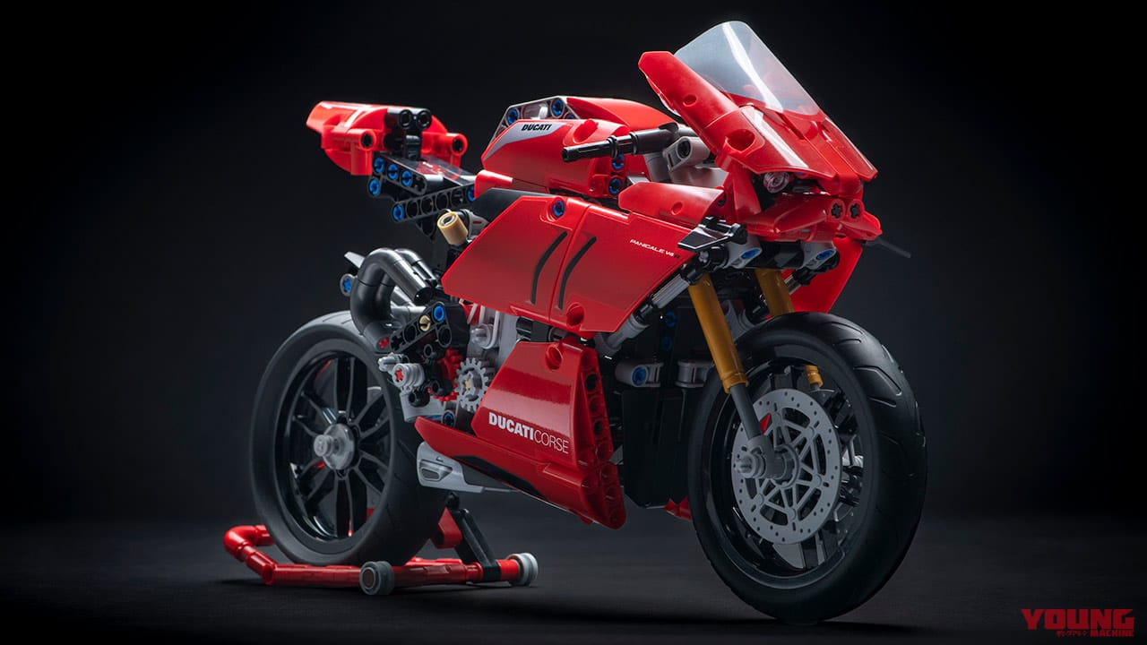 ドゥカティ パニガーレV4R レゴ テクニック
