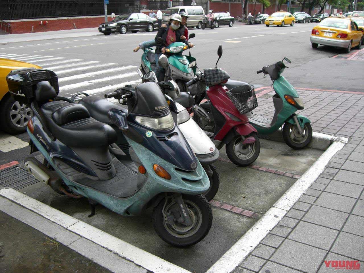 '19年バイク駐車違反件数が約1万件減少【8年連続減も駐車場整備は依然進まず】