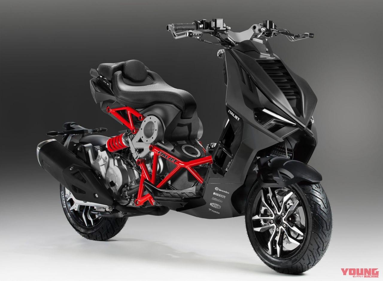 ITALJET DRAGSTER 125/200[2021]ブラック×グレー(標準仕様のみ)イタルジェット ドラッグスター/DRAGSTER