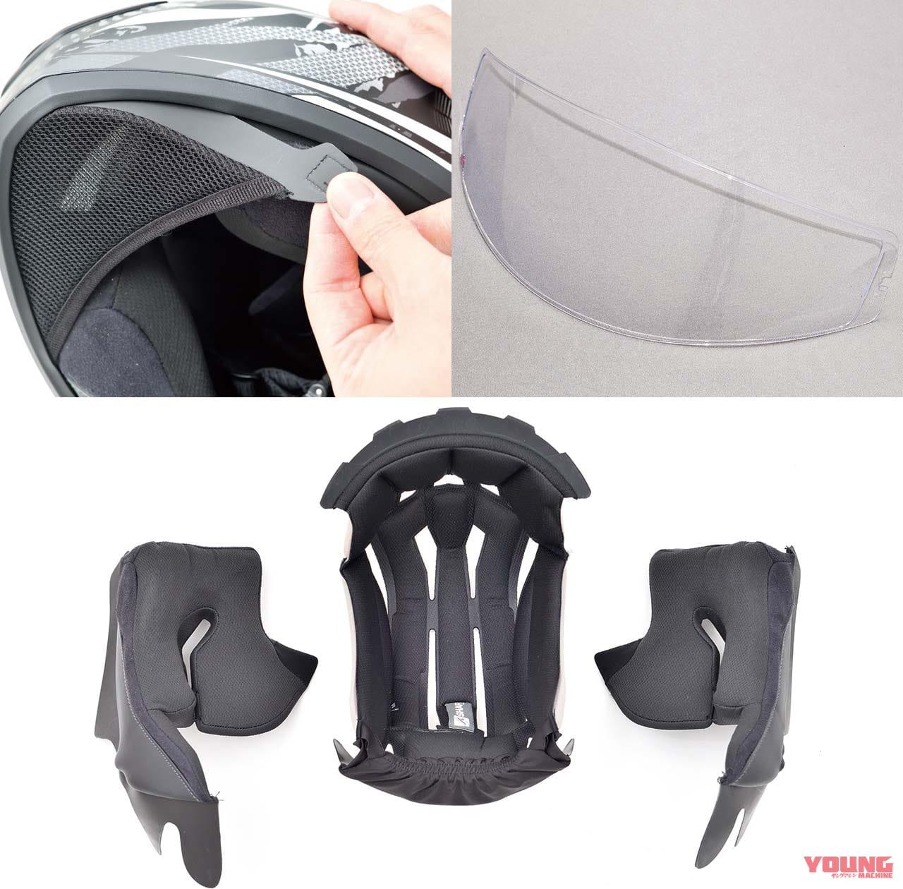 フランス発のヘルメット「シャーク Dスクワール2」