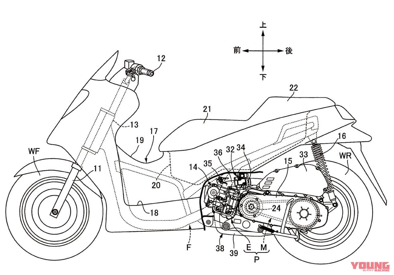 ホンダ フォルツァ 公開特許