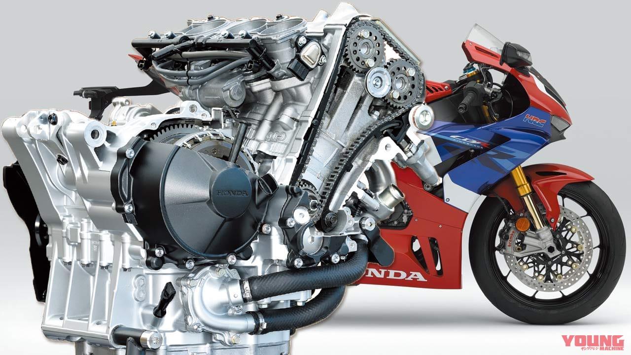 CBR1000RR-Rエンジンマニアック解説#5:二次エア装置、スターター機構、クランク潤滑