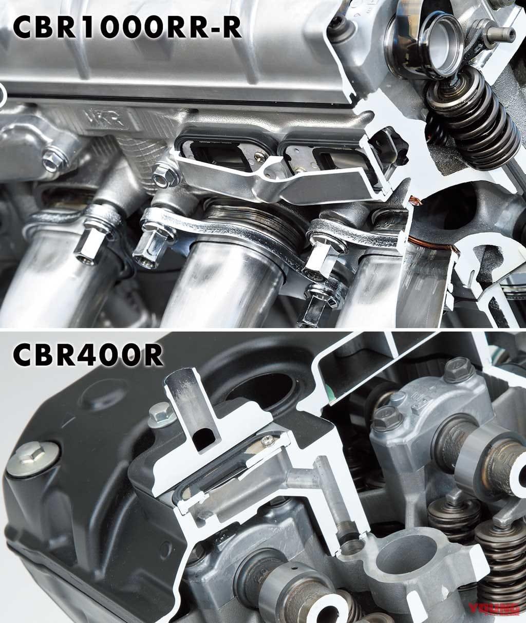CBR1000RR-Rエンジンマニアック解説:二次エア装置