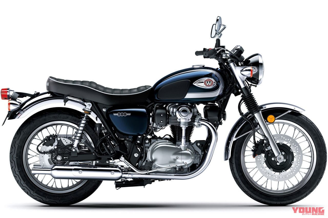 カワサキ W800