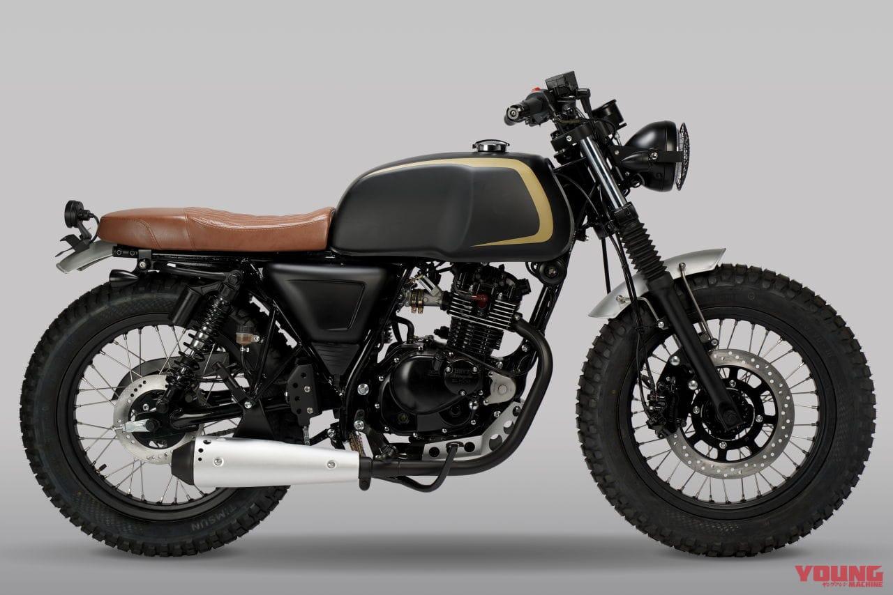 MUTT MOTORCYCLES AKITA 125[2020 model]