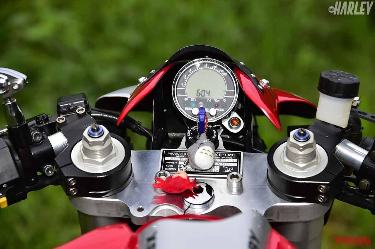 テイスト コンセプト バトルサイクロン×メッツラー スポルテックM9RR