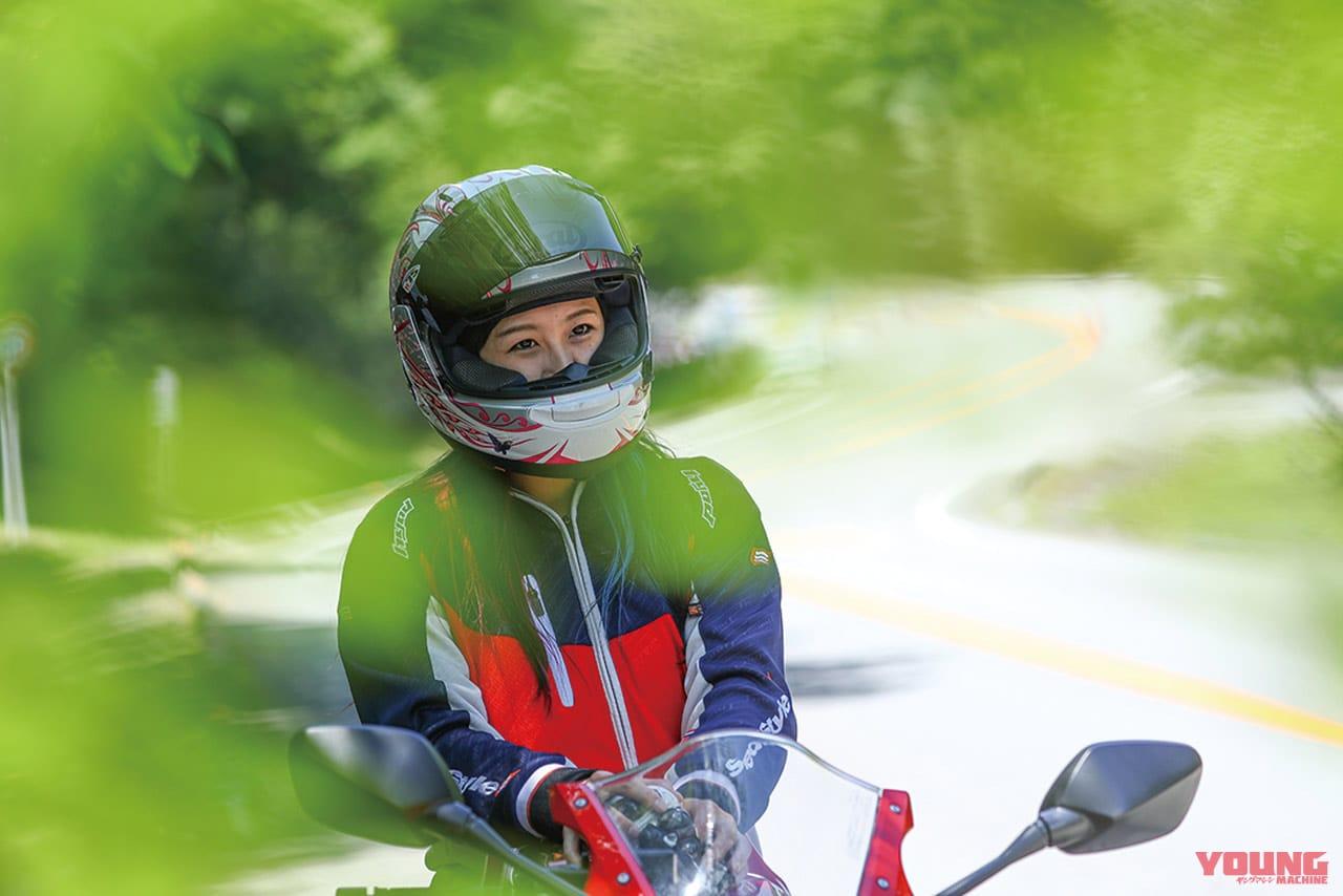 岡崎静夏のホンダ CBR650R試乗インプレ〈前編〉【素性良し爽やかスポーツマン系】