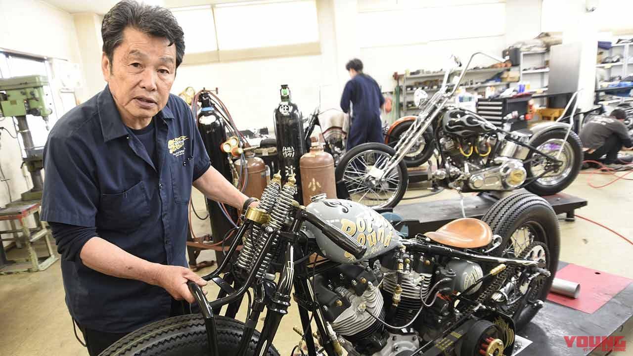 遠藤自動車サービスに聞く「なぜ今、旧車系ハーレーカスタムが求められるのか」