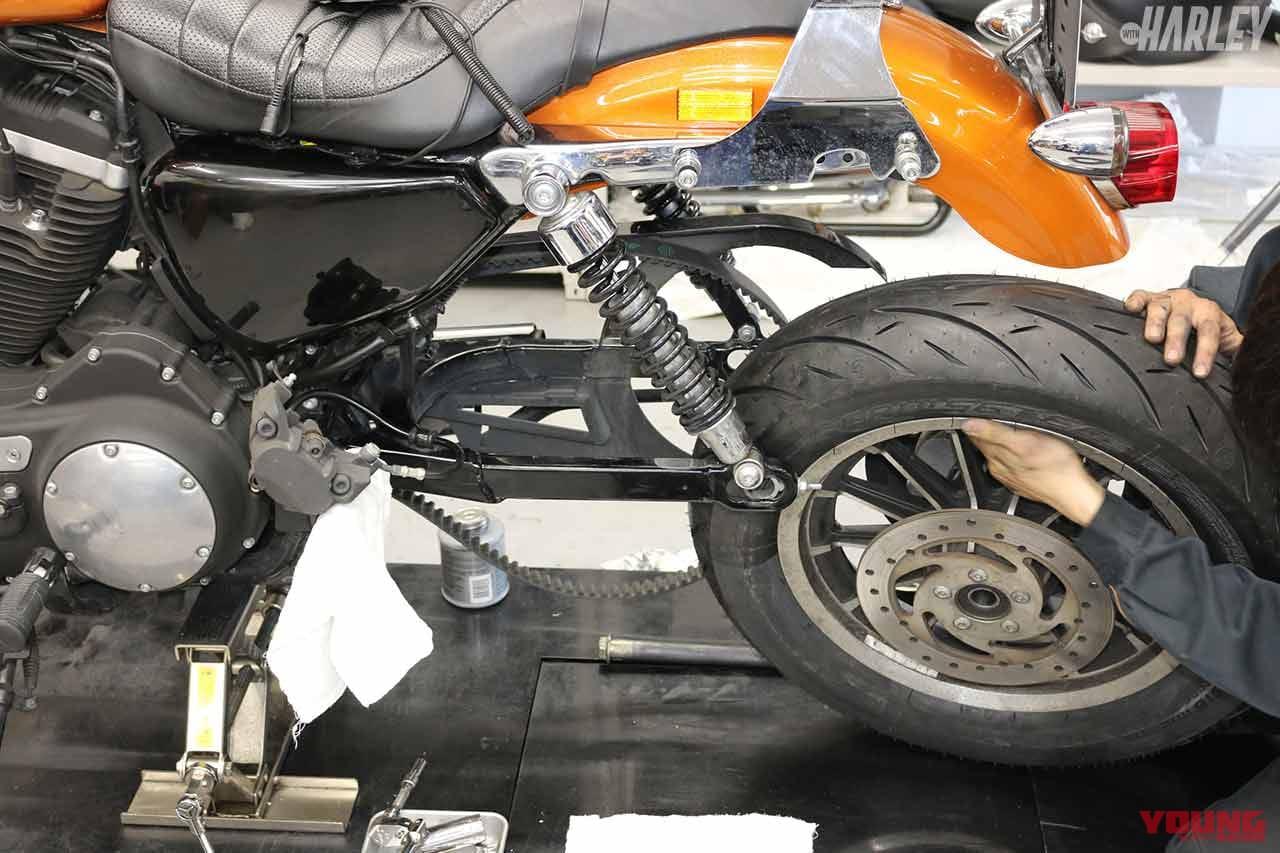 ハーレー スポーツスター883Rのタイヤをメッツラー クルーズテックに換装してみた