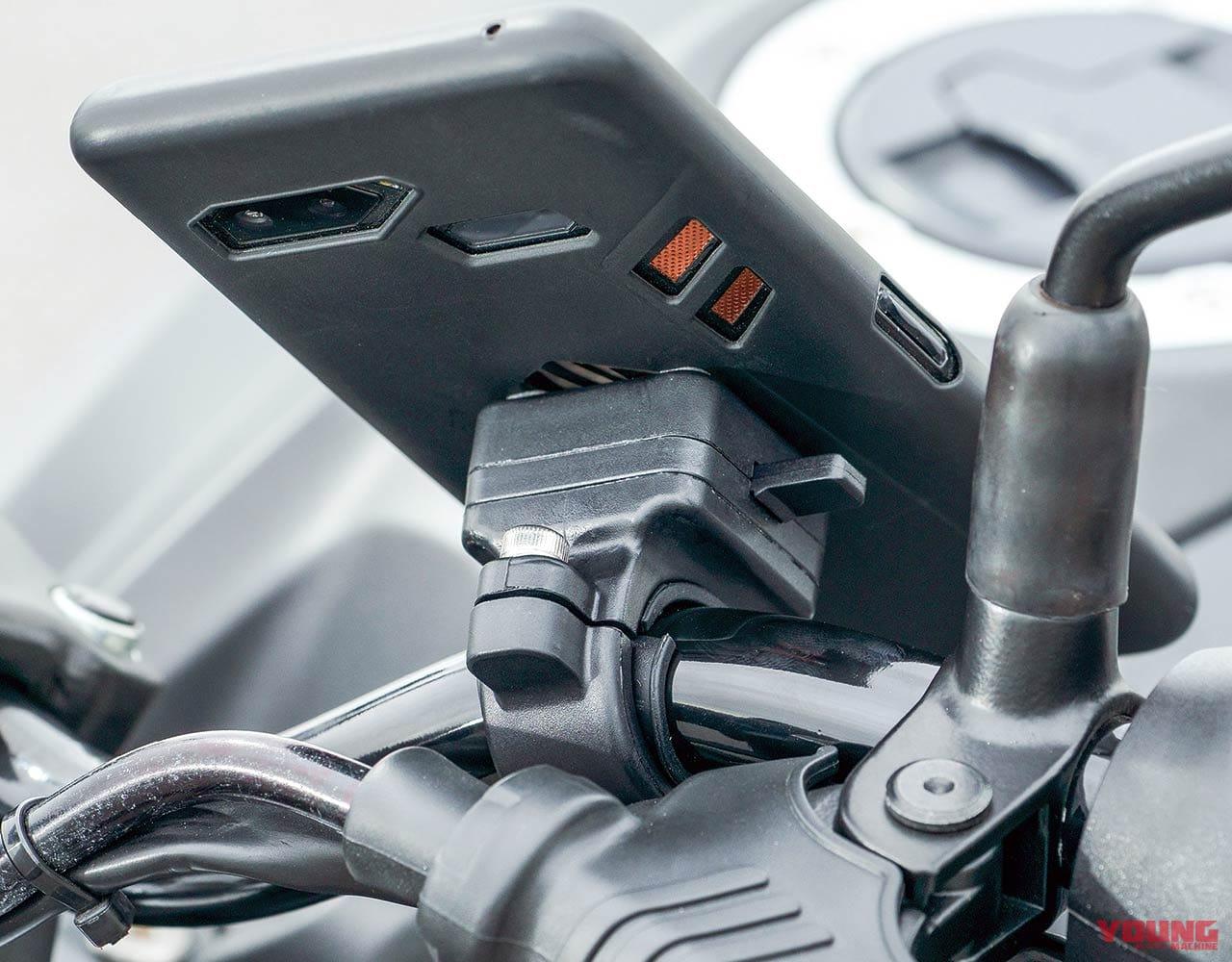 スマホマウント オックスフォード クリッカ OX850