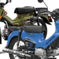 【Scoop!】ホンダ2021年のCT125ハンターカブ&クロスカブ110は緑と青だ!
