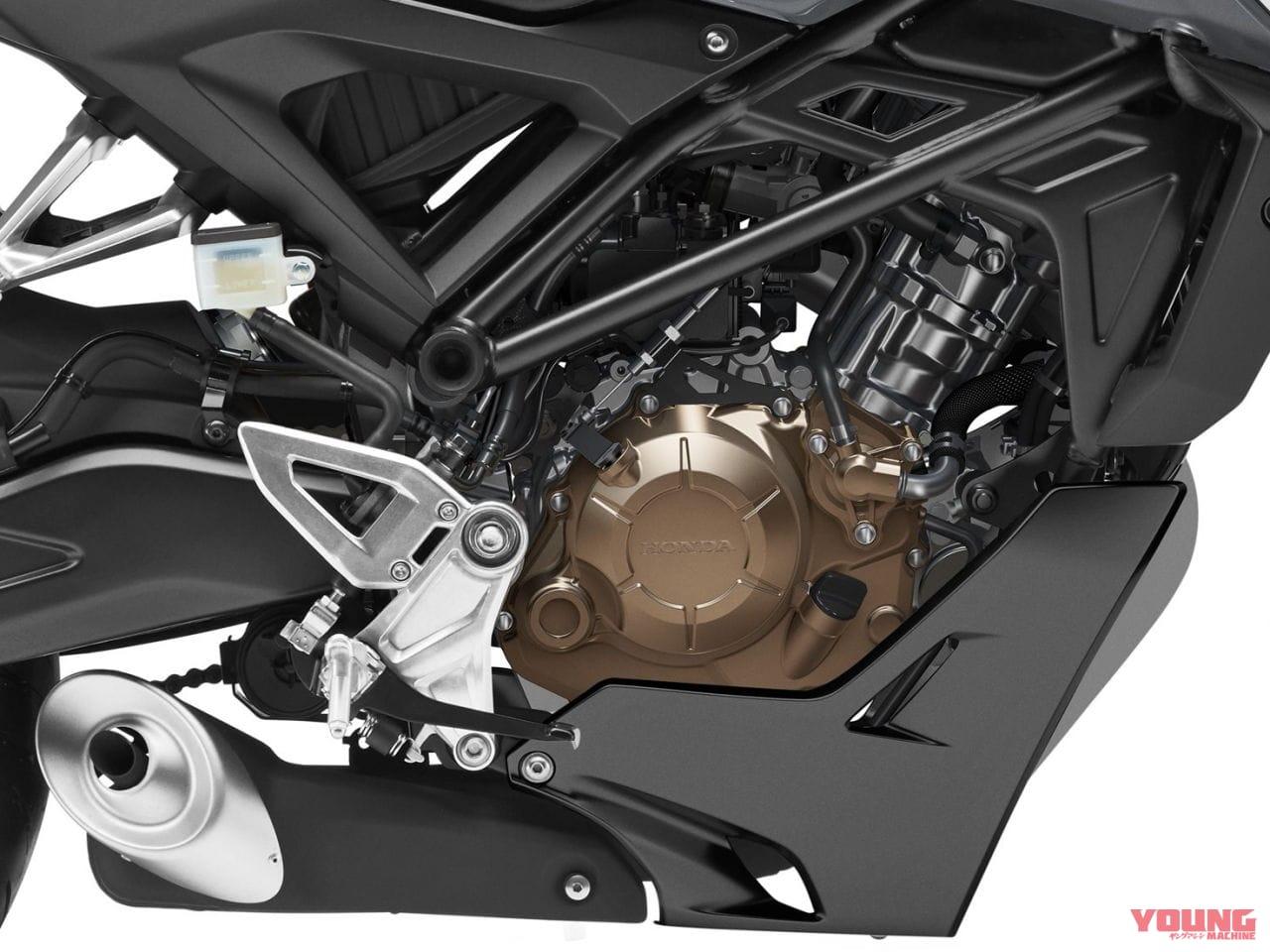 2021年モデル・ホンダCB125R