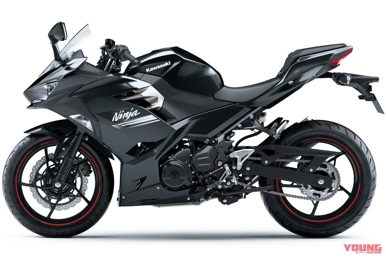 KAWASAKI Ninja 250[2021 model]メタリックカーボングレー(GY1)