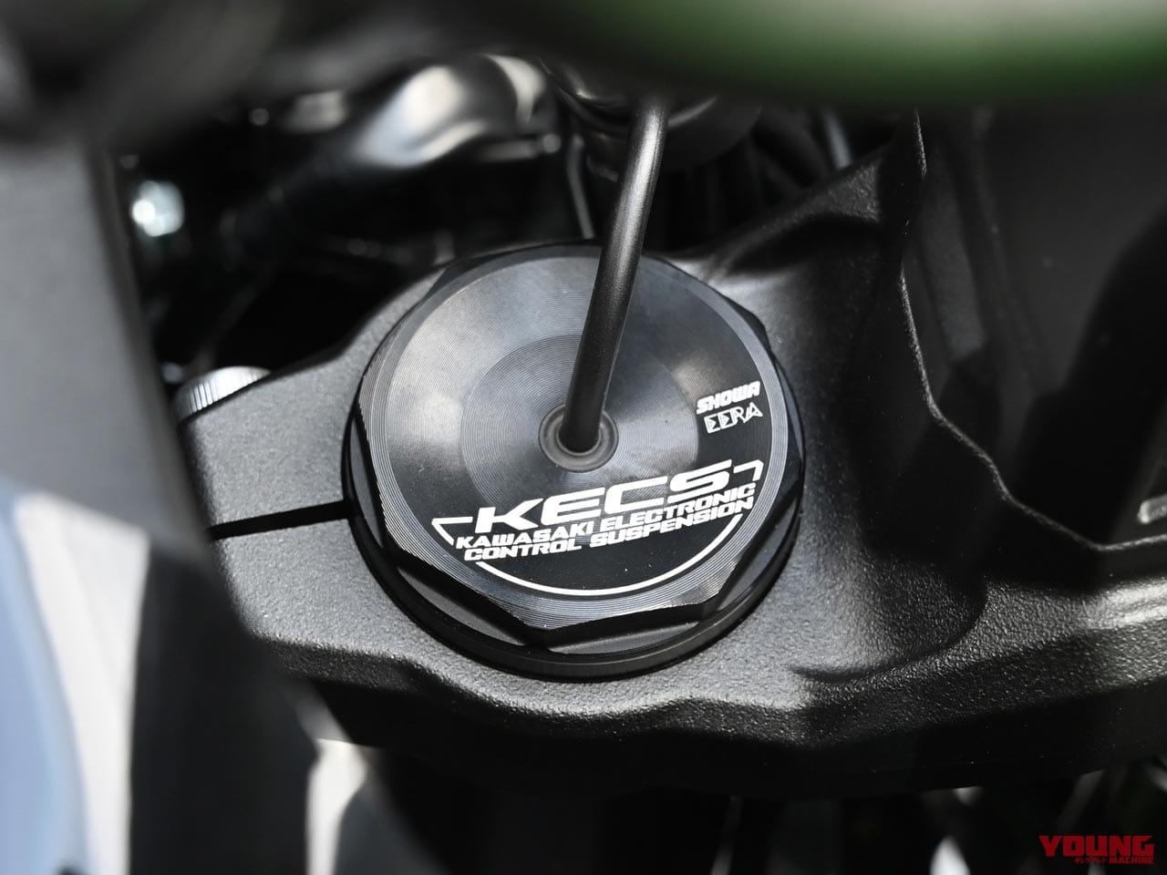 カワサキ新型ヴェルシス1000SEの電サスはショーワ製イーラ=スカイフック理論採用