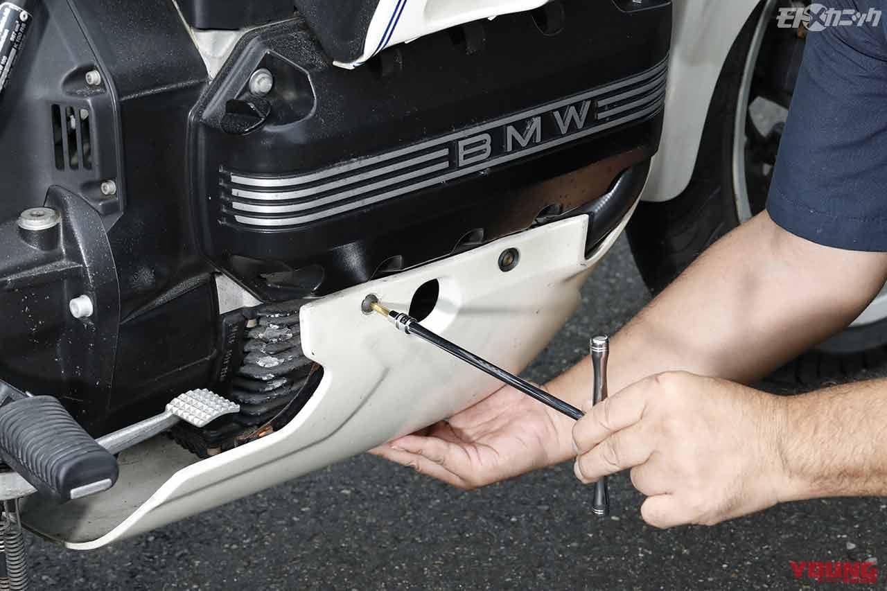 BMW K100RS快適メンテナンス〈ネプロス6.3sq.シブイチ〉