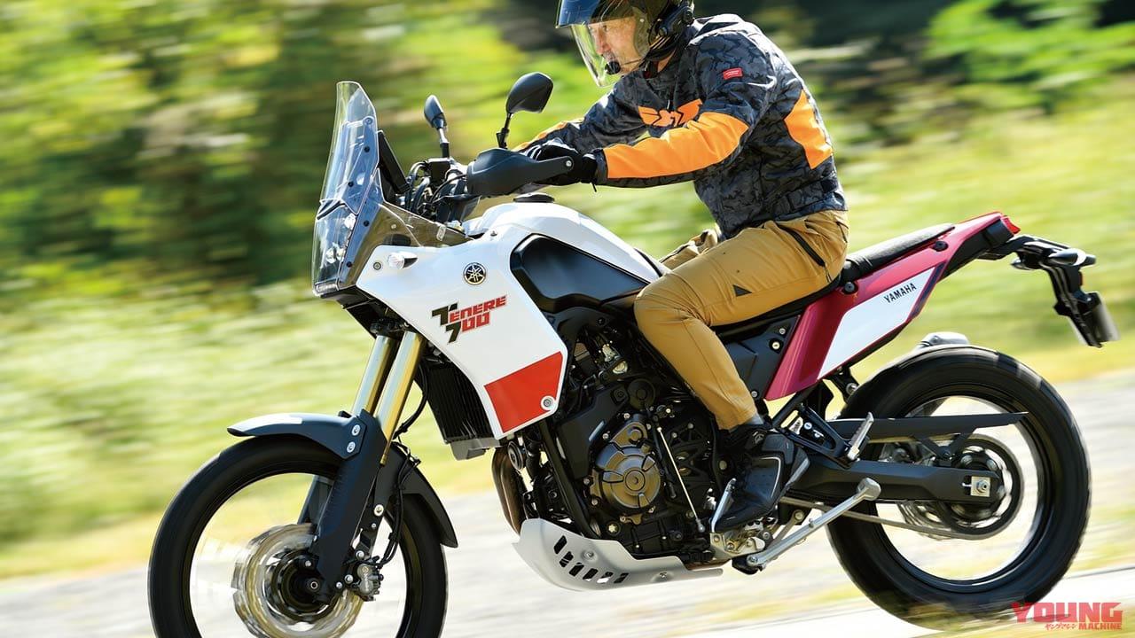 700 ヤマハ テネレ ヤマハ「テネレ700」なら快適に高速道路で移動し、オフロードを本気で楽しめる!!(バイクのニュース)
