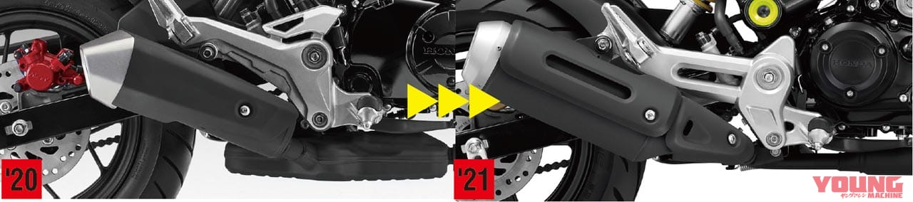 '21ホンダ グロム、新エンジンに5速MTでまもなく登場