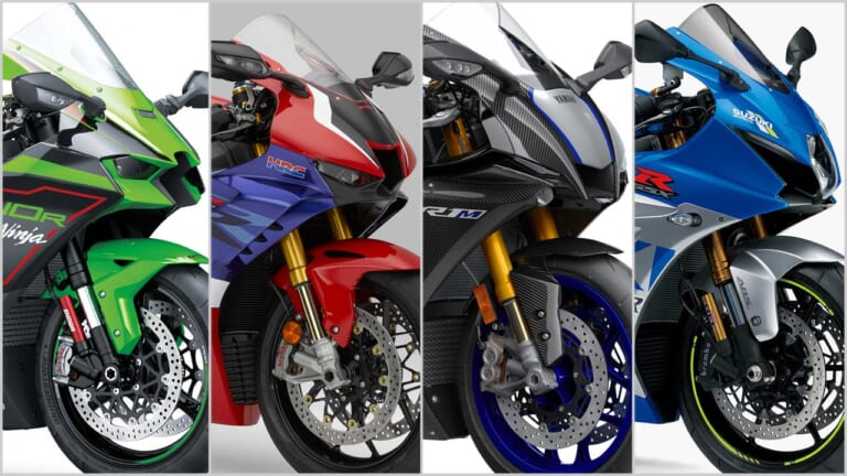 2021新車バイクラインナップ〈日本車大型スーパースポーツ1000ccクラス〉