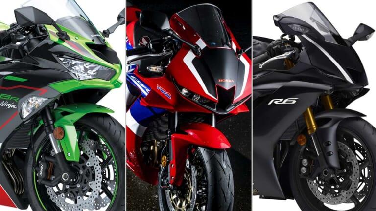 2021新車バイクラインナップ〈日本車大型スーパースポーツ600ccクラス〉
