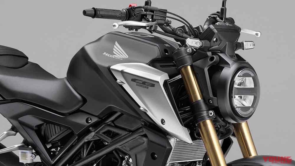 ホンダ新型「CB125R」登場!DOHCエンジン/ZX-25Rより太い倒立フォーク採用で1万6500円増