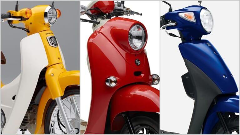 2021新車バイクラインナップ〈原付一種50cc 日本車最新潮流解説〉