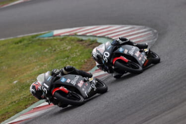 56RACINGのライダーが全日本ロード第3戦SUGOラウンドに参戦、J-GP3特別参加枠で完走!
