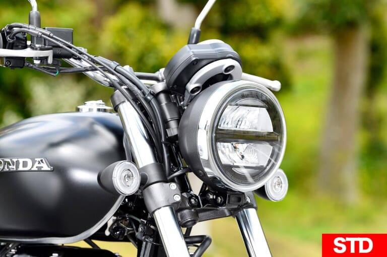 ホンダGB350 ヘッドライト