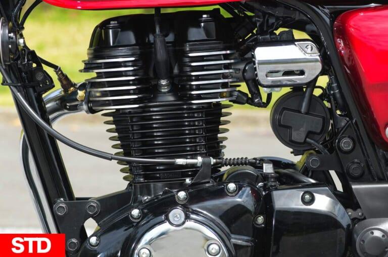 ホンダGB350 エンジン