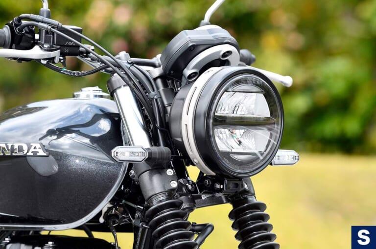 ホンダGB350S ヘッドライト