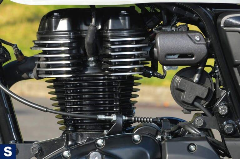 ホンダGB350S エンジン
