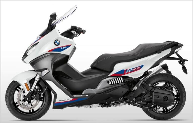 '20 BMW C650スポーツ HPモータースポーツライトホワイト×レーシングブルーメタリック×レーシングレッド