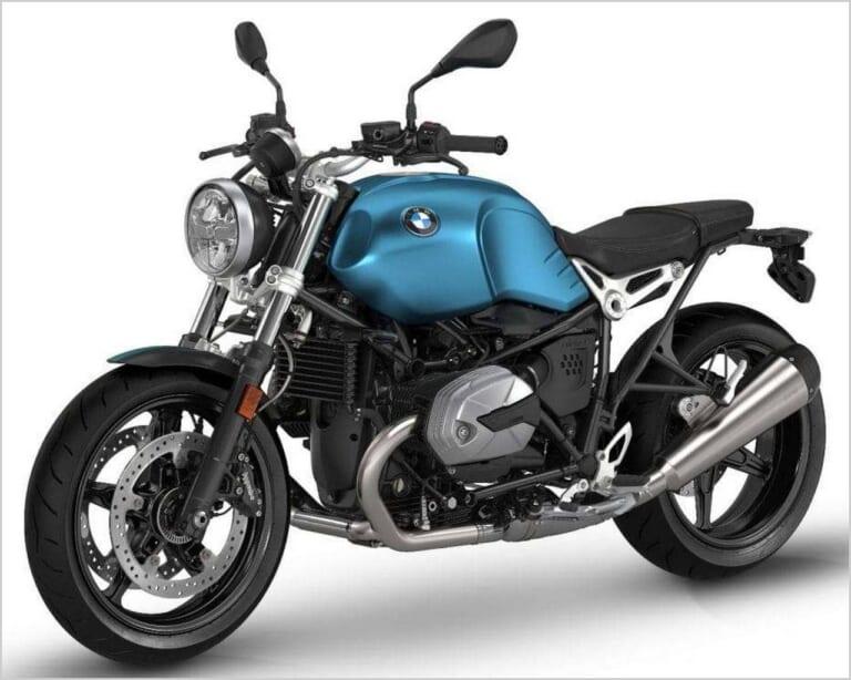 '21 BMW Rナインティピュア|テールブルーメタリックマット