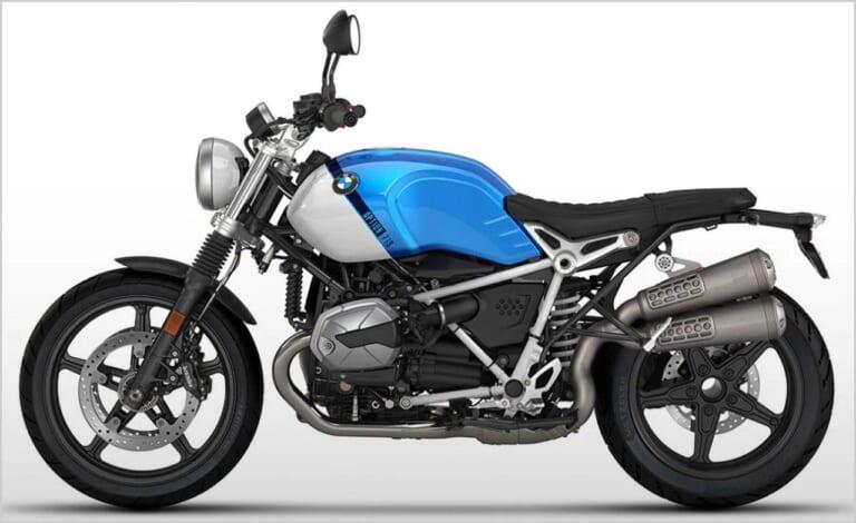 '21 BMW Rナインティスクランブラー|Option719コスミックブルーメタリック×ライトホワイトユニ