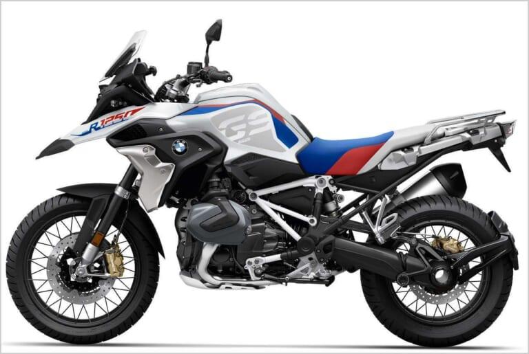 '21 BMW R1250GS|スタイルラリー(ライトホワイト×レーシングブルーメタリック×レーシングレッド)