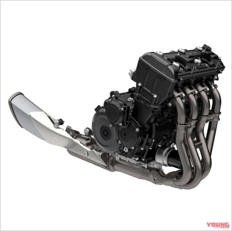 '21 スズキGSX-S1000 | エンジン