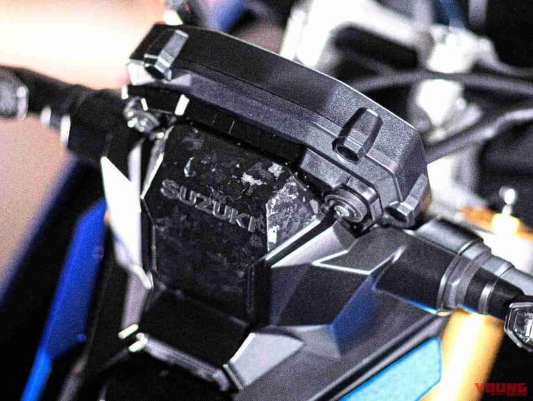 '21 スズキGSX-S1000 | メーターカバー