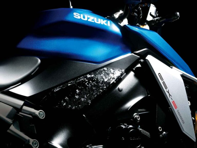 '21 スズキGSX-S1000 | フレームサイド