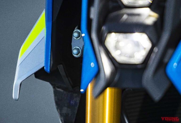 '21 スズキGSX-S1000 | ウイングレット