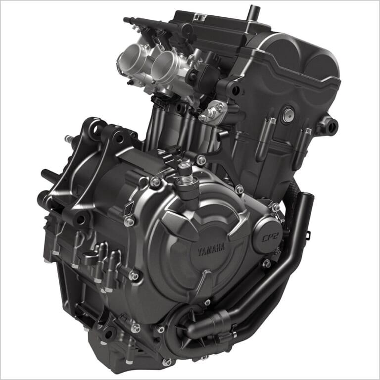 ヤマハYZF-R7|エンジン