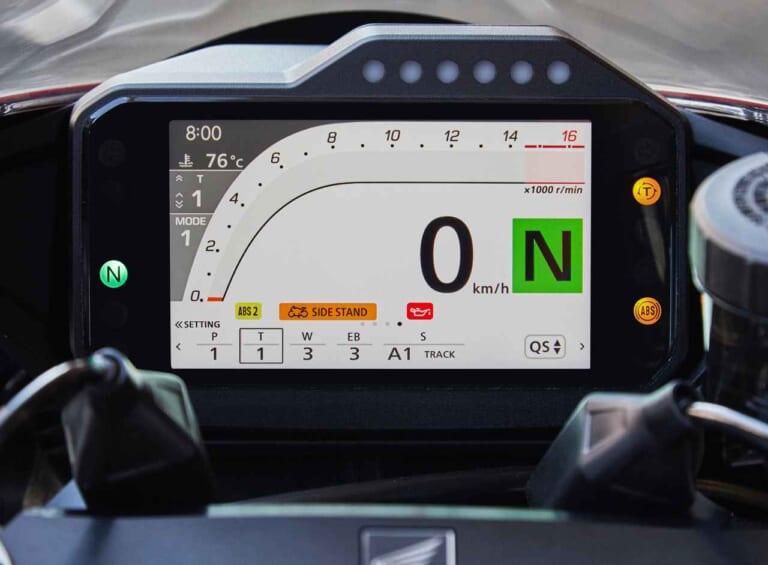 ホンダ CBR1000RR-Rファイアーブレード/SP 5インチTFTメーター