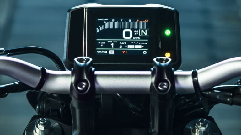 '21 ヤマハMT-09 ABS/SP ABS|スピードメーター