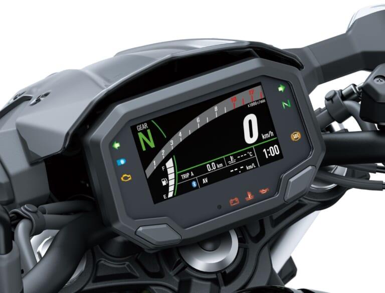 カワサキ Z650 メーター