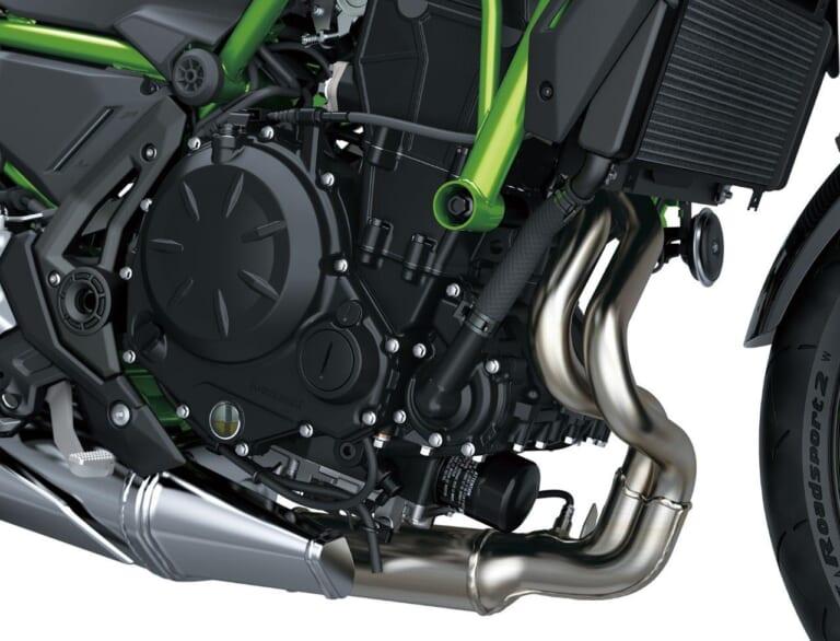 カワサキZ650 エンジン