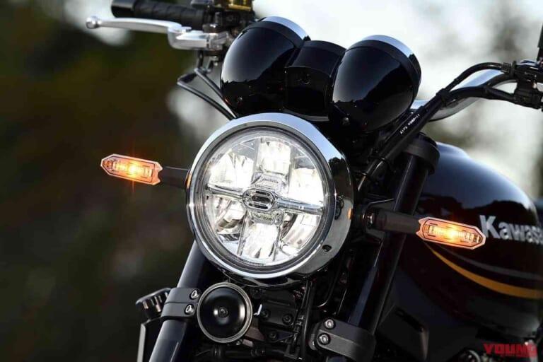 '22 カワサキZ900RS北米仕様 1灯6眼LED