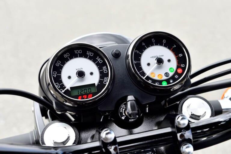 '21 カワサキ メグロK3 スピードメーター
