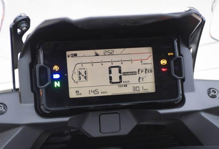 ホンダ NC750X DCT LCD液晶メーター